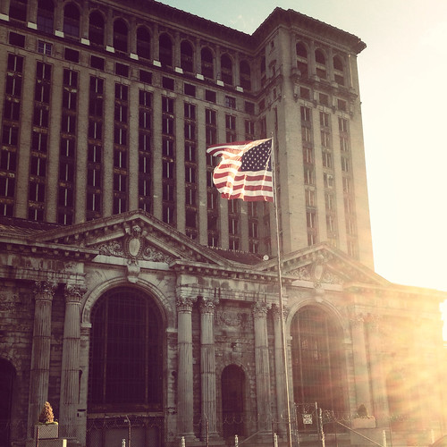 Detroit - Michigan Central Station