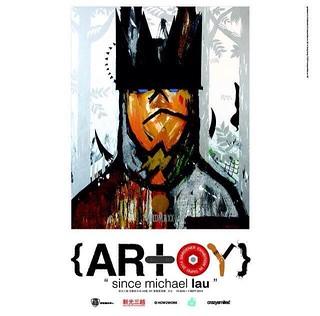 "【限定品資訊更新】Michael Lau 台北個展 {AR+OY} Taipei ""Since Michael Lau""."