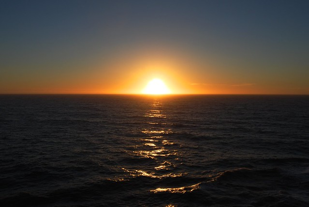North Sea Sunset