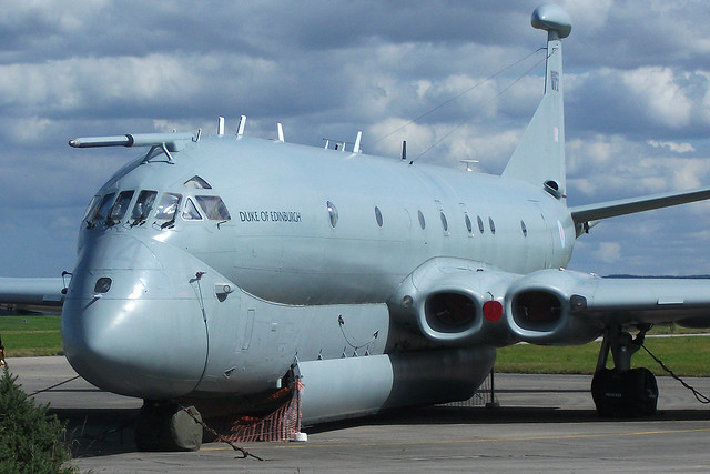 The last Nimrod at Kinloss