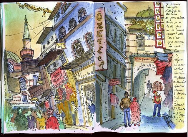 Istanbul - Vieux quartiers