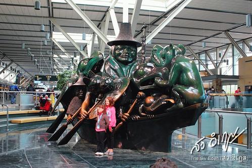 แคนาดา canada vancouver airport
