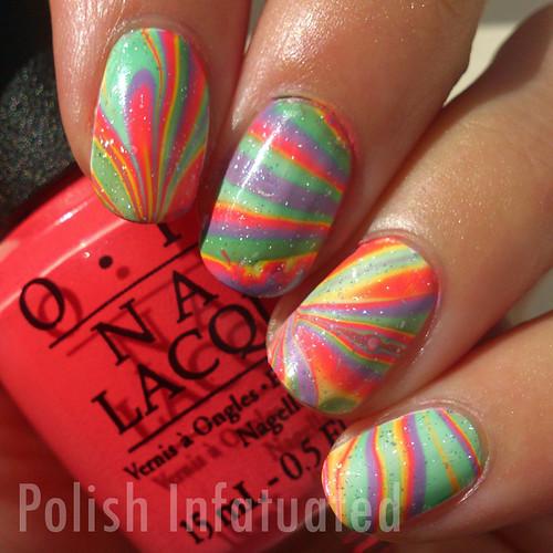 rainbow watermarble (sun)