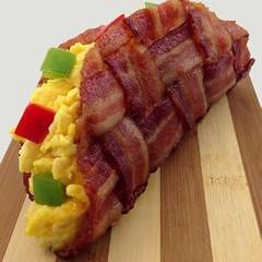 meal, breakfast, bacon, meat, food, dish, cuisine,