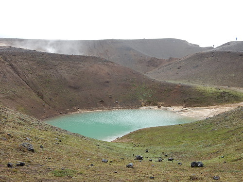 Second Crater at Krafla