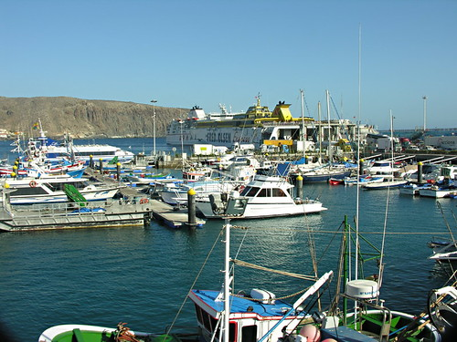 Los Cristianos harbour