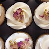Rose vanilla #vegan #cupcakes #wedding #willowharjitgetmarried #nofilter