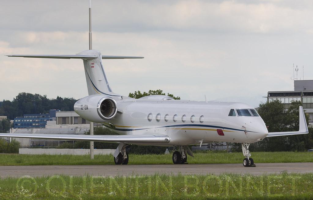 PrivateGulfstream Aerospace G-V-SP Gulfstream G550 OE-ISN