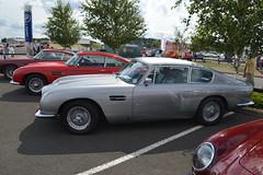 automobile, vehicle, aston martin db4, performance car, automotive design, antique car, classic car, vintage car, land vehicle, coupã©, sports car,
