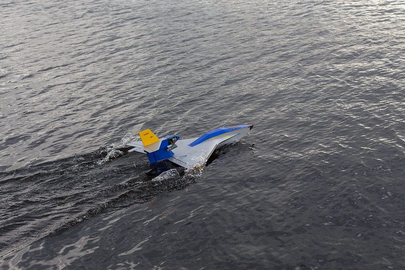 John's sea plane.