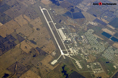 USAF Minot Air Force Base with B-52's - From My Window Seat on British Airways Boeing 777 G-VIIT - 131012 - USA 2013 - Steven Gray - CIMG3948