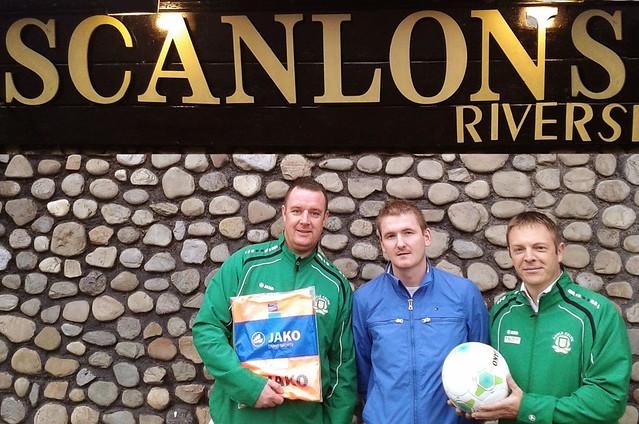 Scanlon's Sponsorship for Boyle Celtic
