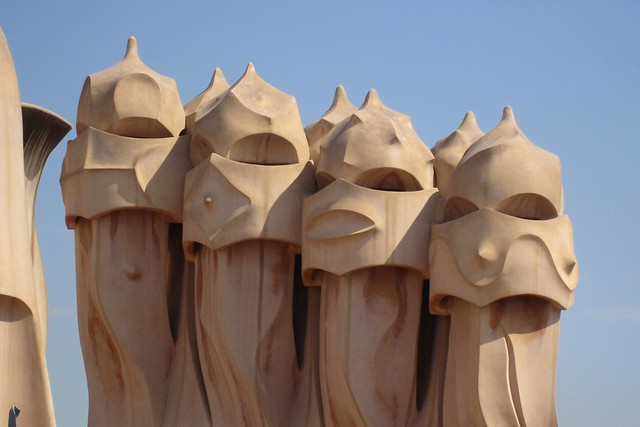 Chimneys, La Pedrera