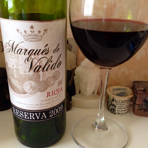 Marques de Valido, Rioja Reserva 2008. Red wine. Wine. Rioja. Spanish wine.
