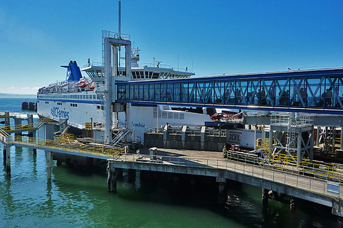 The Spirit of British Columbia ferry at Tsawwassen Ferry Terminal, Delta, Greater Vancouver, British Columbia