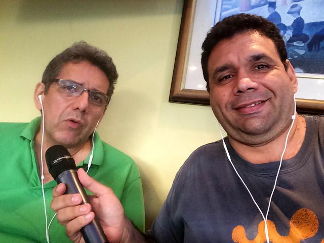 Jesús Márquez y Antonio Da Silva Campos
