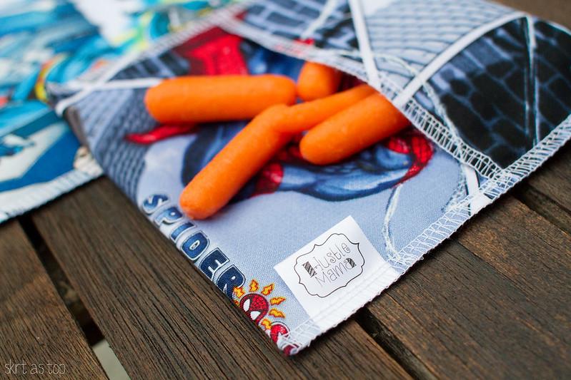 hustlemama snack bags