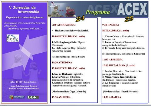 V Jornadas de Intercambio ACEX en Bizkaia_2