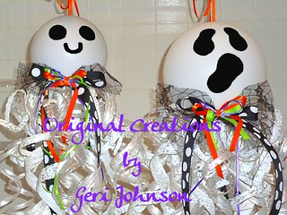 Recycled Water Bottle Ghostie in 2 sizes 1