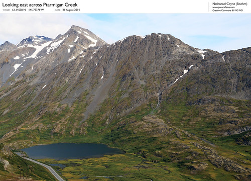 Ptarmigan Creek valley