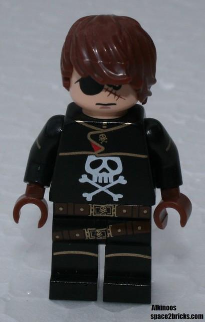 Albator, Captain Harlock Lego p4