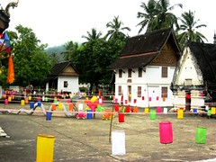 Celebration of Buddhist Lent, Laos