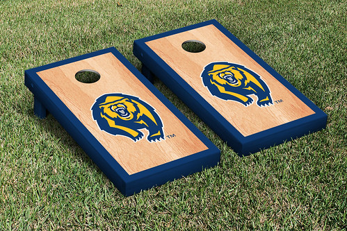 California Berkeley Golden Bears Cornhole Game Set Hardcourt Version