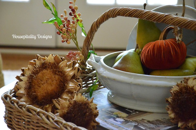 Fall Table Vignette/Housepitality Designs