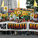 Young people from Frontline Communities lead the marchd by peoplesclimate