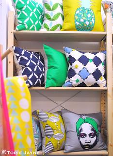 Curio & Curio cushions
