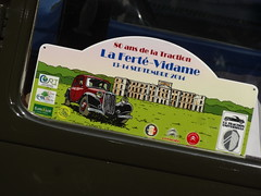 80 Jahre Citroen Traction Avant 2014 La Ferte-Vidame 500