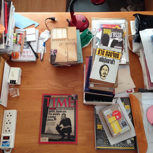 My desk / September 7, 2014