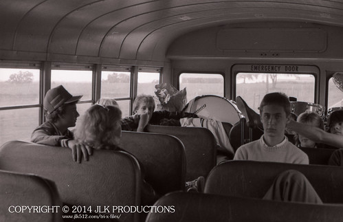 Tri-X Files 84_23.14: The Cool Kids in the Back of the Bus