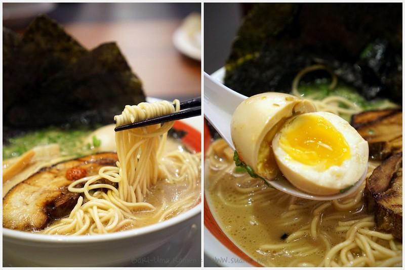 Bari-Uma Ramen Malaysia - noodles and egg