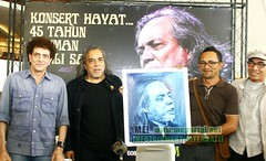 45 Tahun Seniman Ramli Sarip