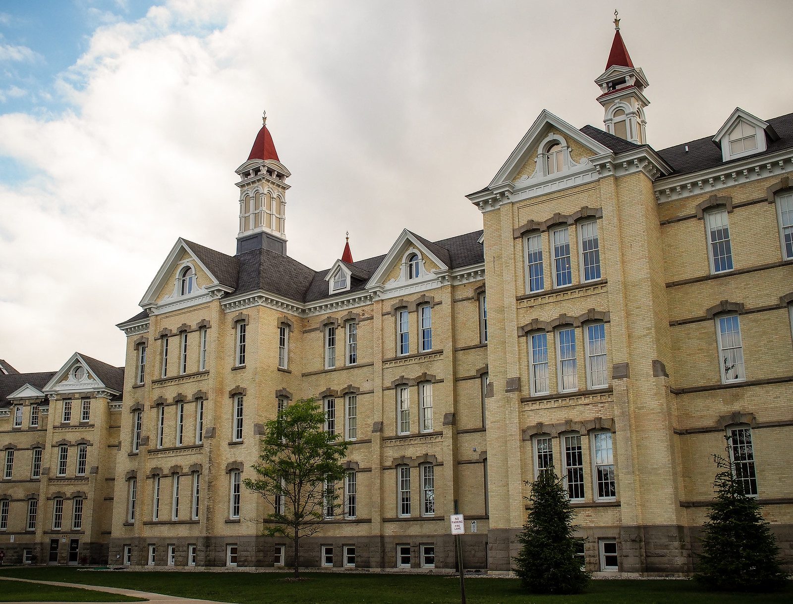 Grand Traverse Commons exterior