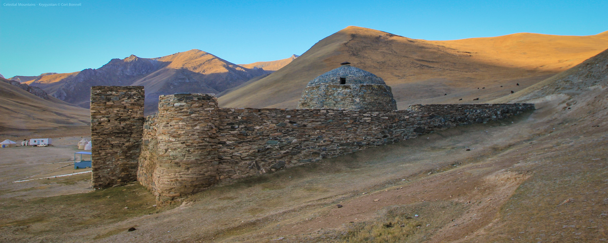 Silk Road  Tash Rabat Caravanserai in Kyrgyzstan