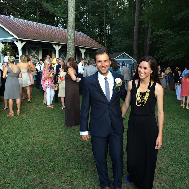 6+ years in, and I'm still amazed @scherling200 is my forever wedding date. #foxlanta #marriageforthewin #latergram