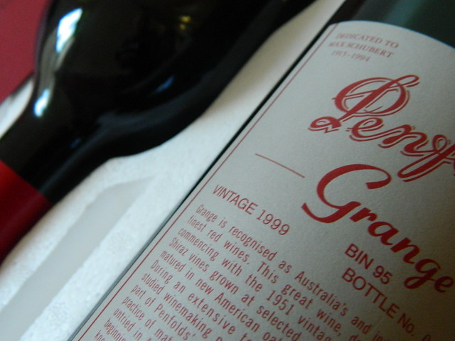 Penfolds Grange 1999 Cork Closure (Mint Condition)