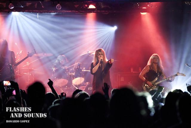 Vixen en concierto en Barcelona
