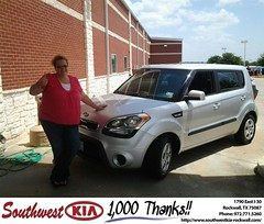 #HappyBirthday to Stacy Baggett from Donald Reed at Southwest KIA Rockwall!