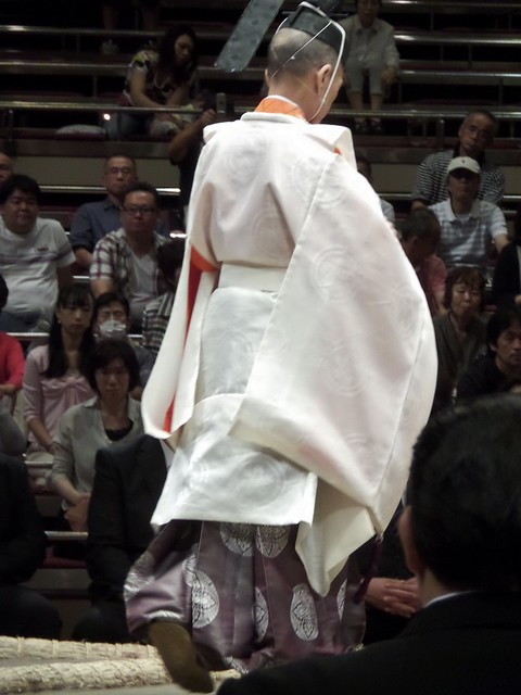 Main Priest at Sumo Opening Ceremony