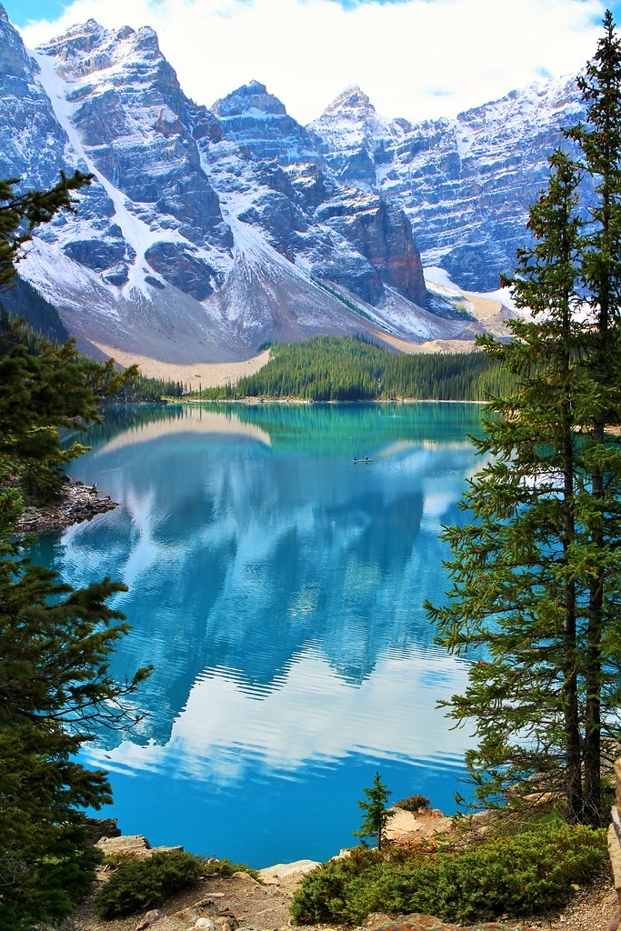 Moraine Lake, Banff Nationalpark, Alberta, Canada