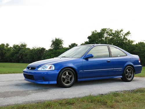 2000 Honda Civic Si Electron Blue, one owner| Cars For Sale