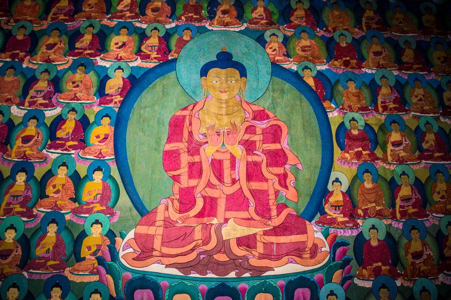 Чимре-Гомпа (Монастырь Чимре), Ладакх, Индия. Монастыри Ладакха