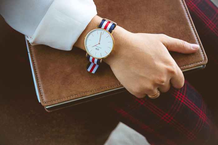 Olga choi fashion blogger myblondegal Korea Daniel Wellington Classic Bristol watch nato strap -01183