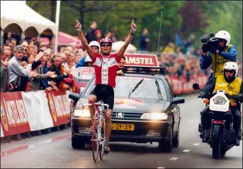 Amstel '97 - L'arrivo solitario di Riis