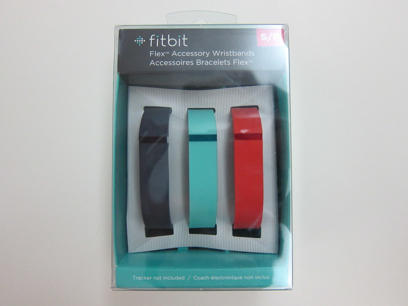 Fitbit Flex Accessory Wristbands - Box Front