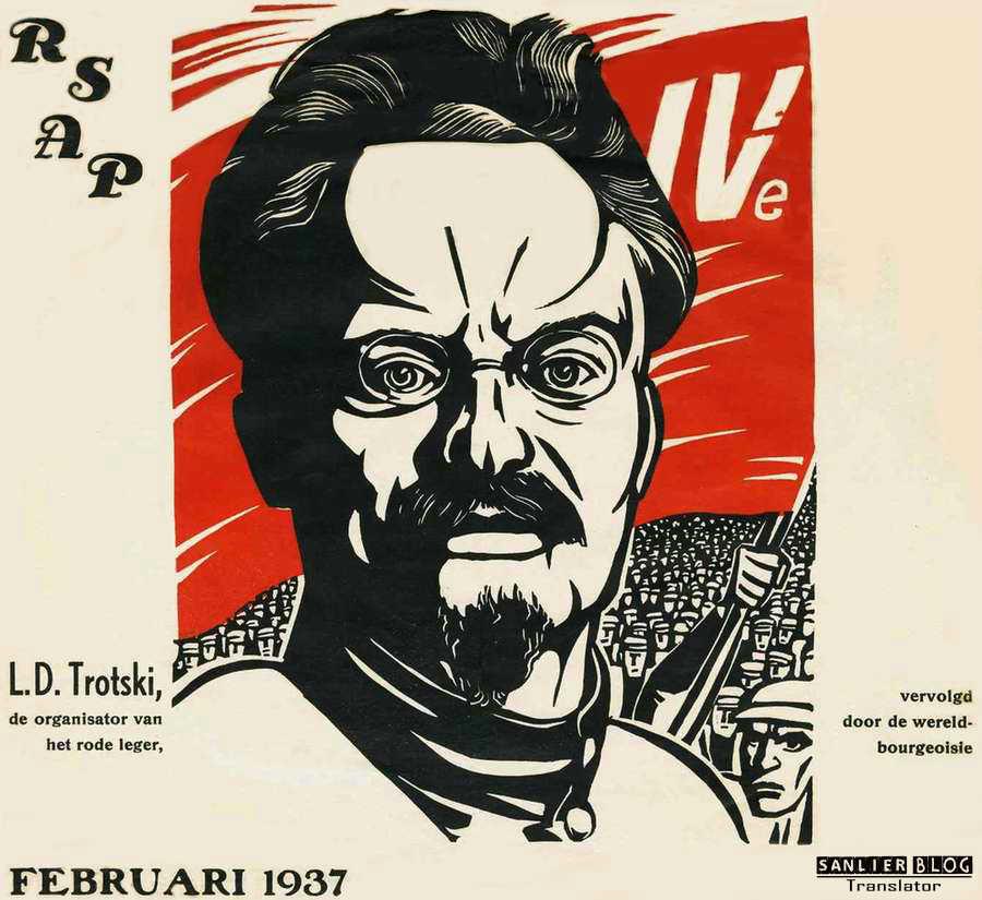 关于托洛茨基的宣传画22