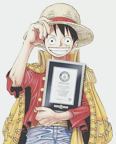 One Piece é Reconhecido pelo Guinness e Entra para o Livro dos Recordes